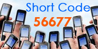 short code sms services 56677